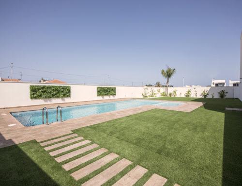 18 bungalows adosados con piscina (San Pedro del Pinatar)