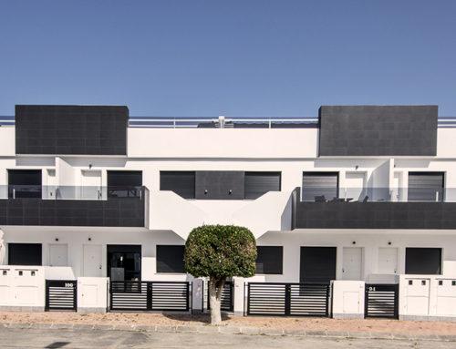 14 bungalows adosados con piscina (San Pedro del Pinatar)