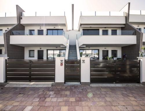12 bungalows adosados con piscina (San Pedro del Pinatar)