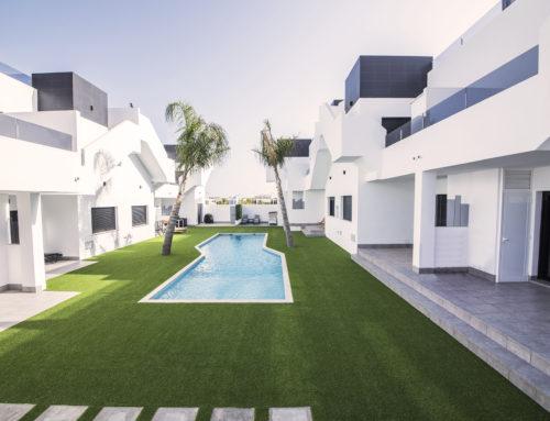 16 bungalows adosados con piscina (San Pedro del Pinatar)